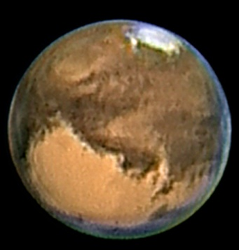 Mars on 27 August 2003 from Italy